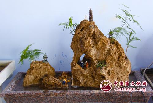 上水石假山盆景盆大 做微型盆景用上水石哪种最好