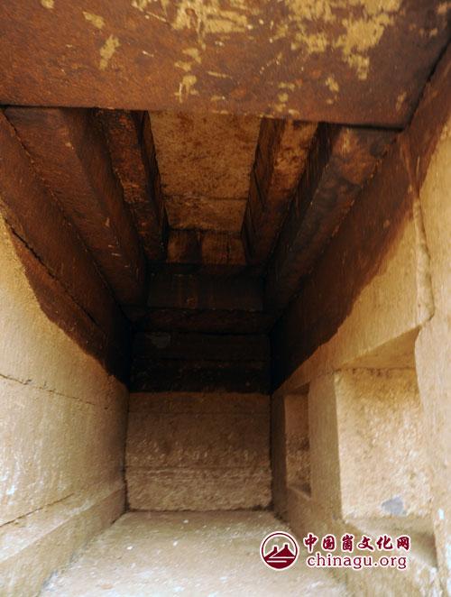 清代古墓结构图